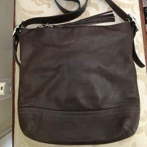 Coach Leather Crossbody Bag 🧡